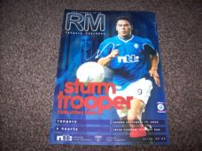 Rangers v Heart Of Midlothian, 2000/01
